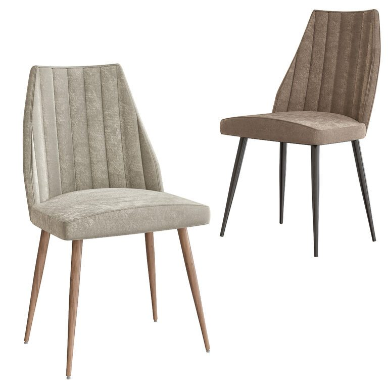 Channel Back Leilani Dining Chair 3d Model Download 3d Model Channel Back Leilani Dining Chair 101440 3dbaza Com