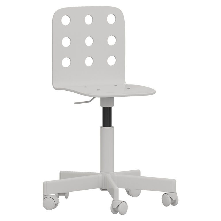 Office Chair Ikea Jules 141753 3d, White Computer Chairs Ikea