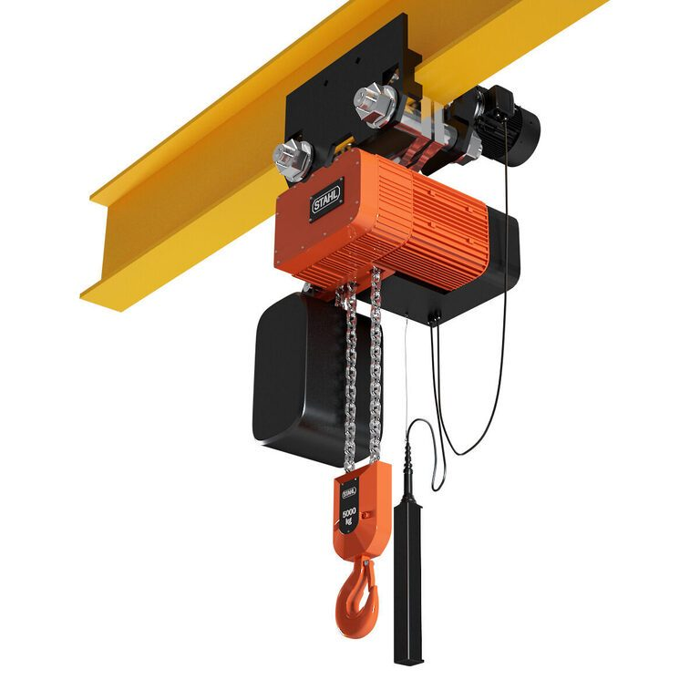 Stahl ST 50 Electric Hoist with carriage 3D model - Download 3D model Stahl  ST 50 Electric Hoist with carriage   17914   3dbaza.com