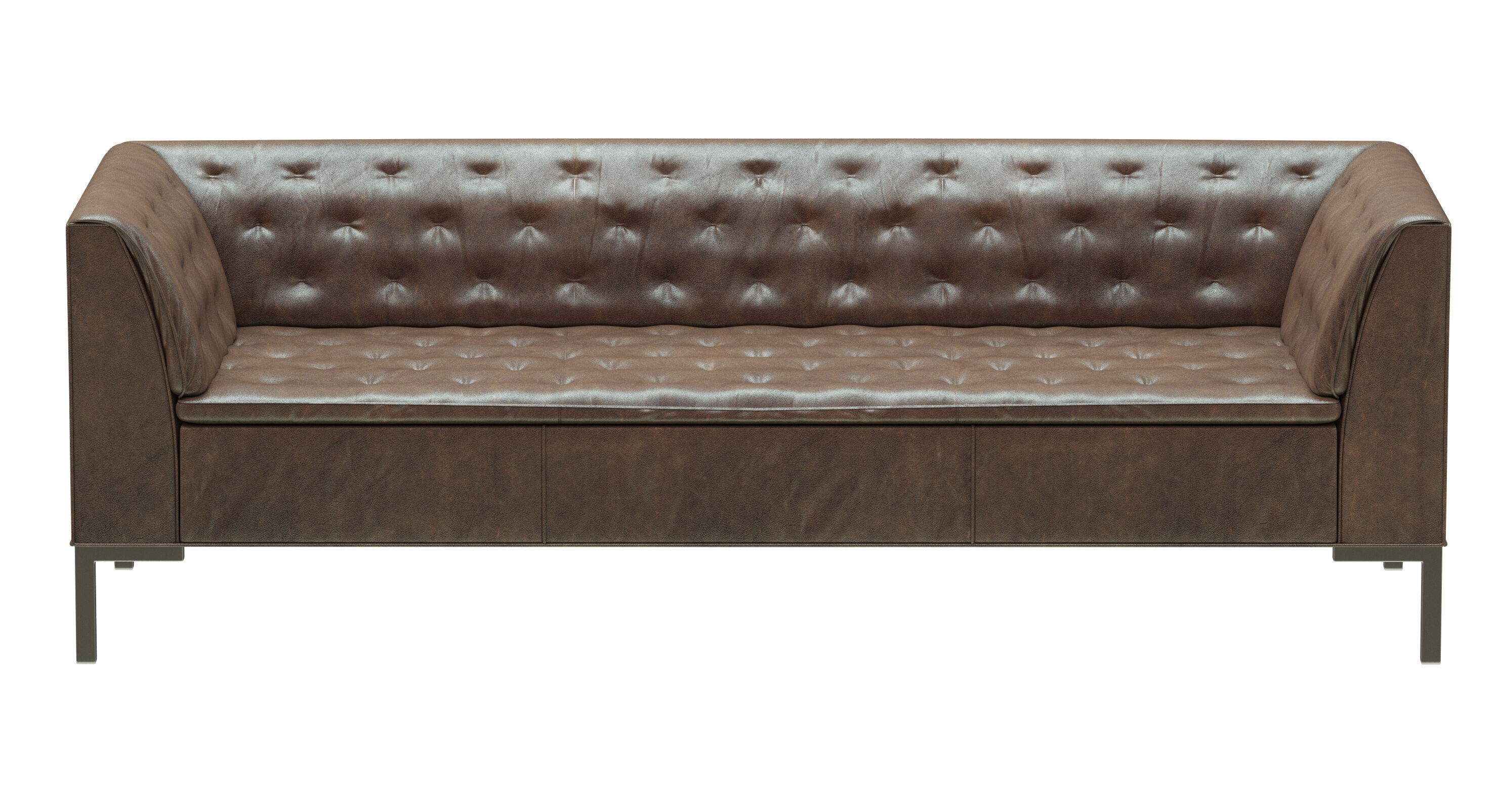Leather Chesterfield Sofa Model