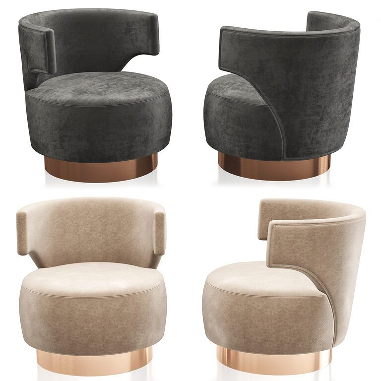 Holly Hunt Mesa Occasional Armchair, Holly Hunt Furniture