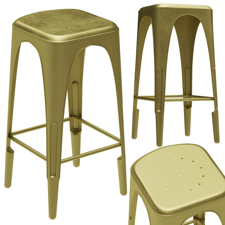 Remy Backless Bar Stool Model