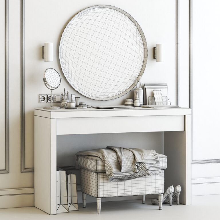 Ikea Malm Dressing Table 3d Model Download 3d Model Ikea Malm Dressing Table 67453 3dbaza Com